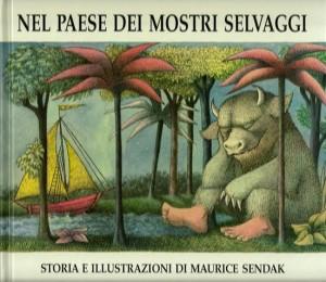 nel paese dei mostri selvaggi, copertina del libro