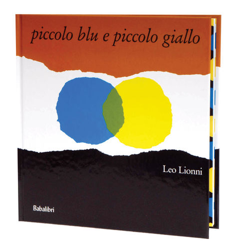 Piccolo blu e piccolo giallo Book Cover